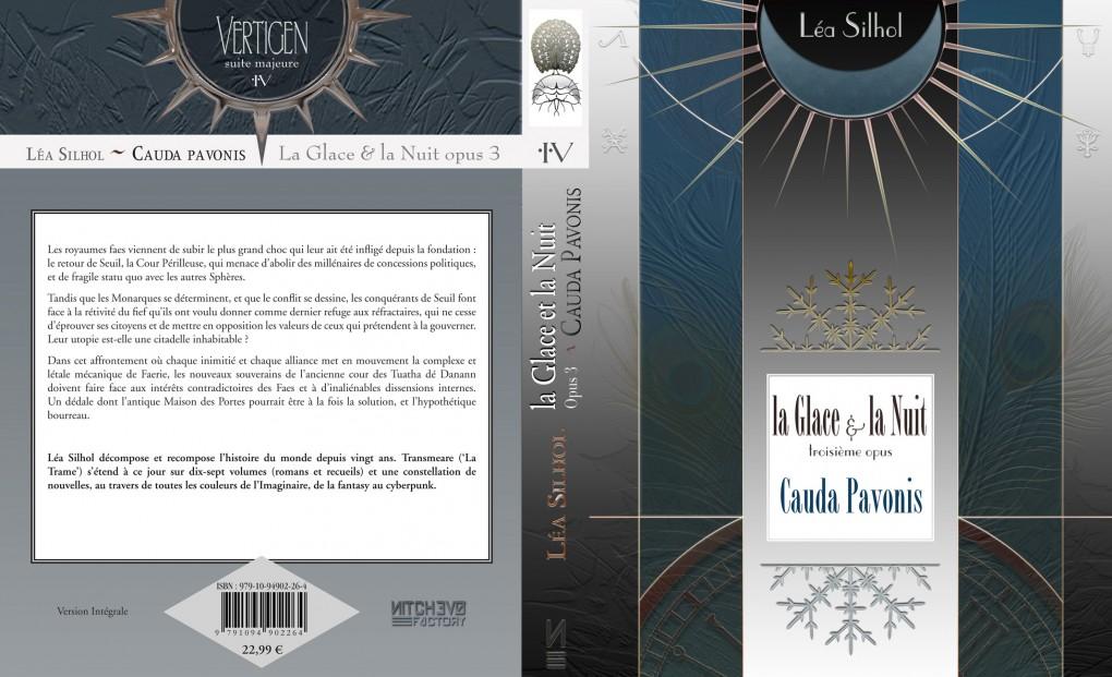 Léa Silhol - La Glace et la Nuit 3 : Cauda Pavonis - full cover